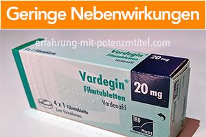 vardenafil-geringe-nebenwirkungen