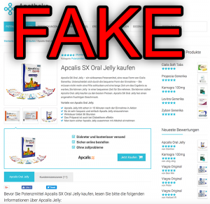 apcalis fake shop