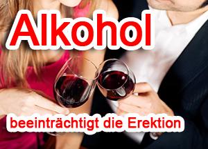 alkohol erektion