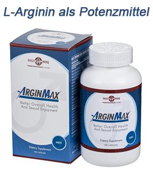 l-arginin als potenzmittel
