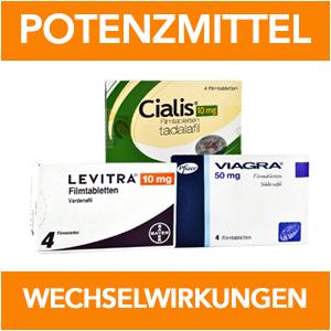 potenzmittel-wechselwirkungen